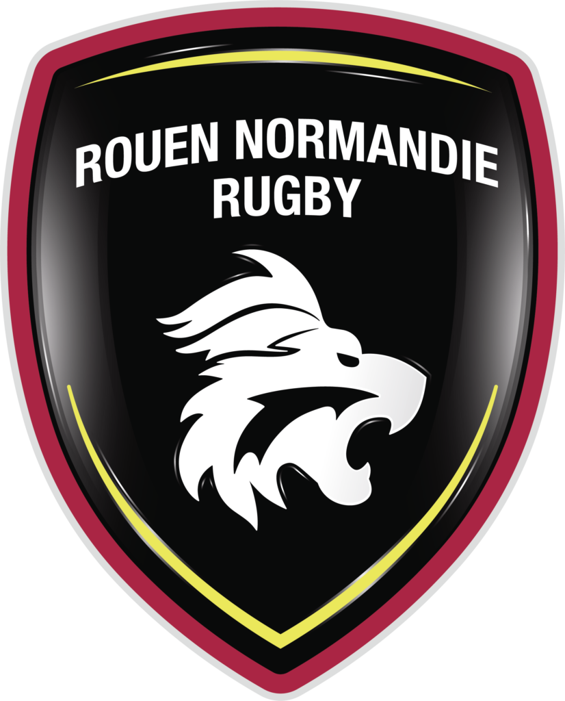 Rouen Normandie rugby logo création Bicome
